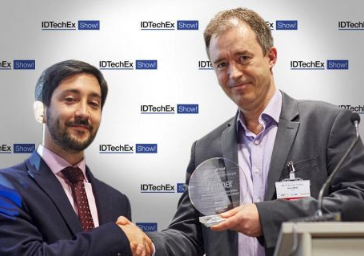 Kemiwatt Award winner at IDTechEx Berlin