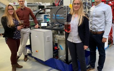 KEMIWATT VALIDATES THE GREAT HOPE OF LONG-LIFE ORGANIC FLOW BATTERY AT INDUSTRIAL LEVEL